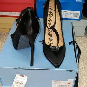 Lanvin satin heels